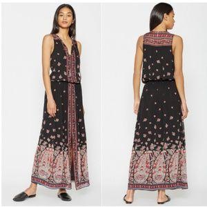 Joie Phanette Printed Silk Maxi Dress